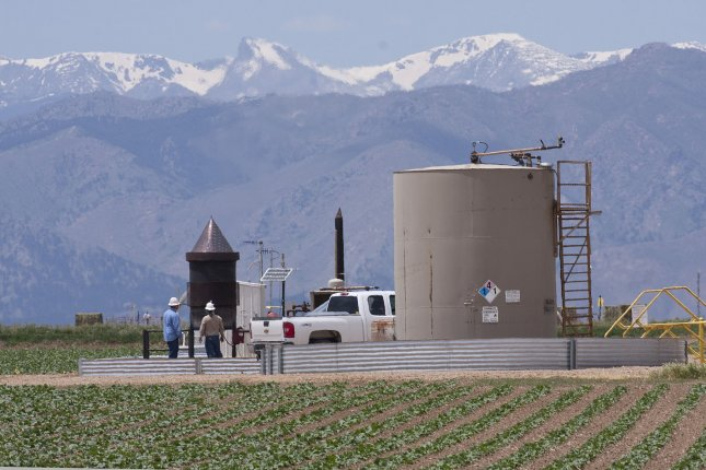Colorado voters will see ballot initiatives on the November ballot restricting oil and natural gas development. State supreme court ruled against similar measures early this year. File Photo by Gary C. Caskey/UPI