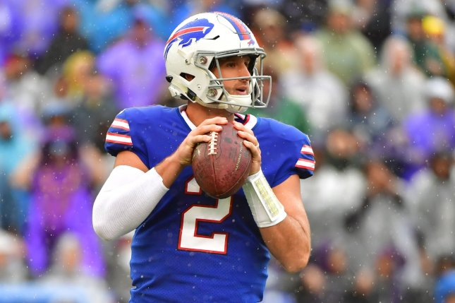 timeless design 2d5c7 7237c Bills QB Nathan Peterman can't get on track - UPI.com