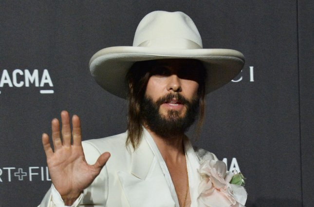Jared Leto discussed his future as the Joker following rumors he will appear in the Harley Quinn solo movie Birds of Prey. File Photo by Jim Ruymen/UPI