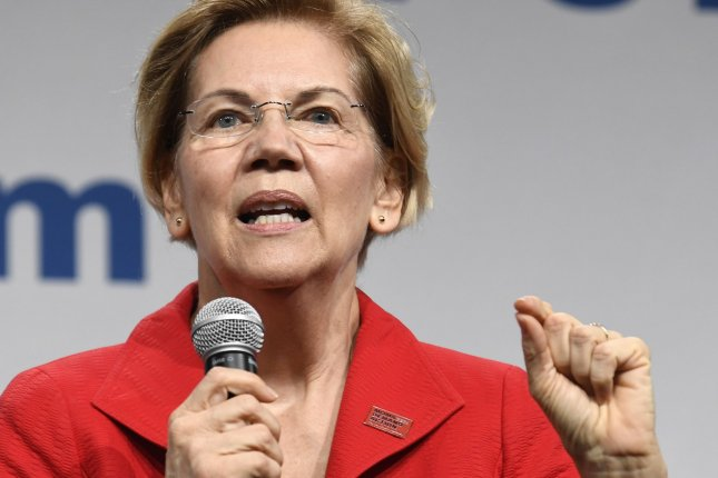 2020 Democratic presidential candidate Elizabeth Warren released policy proposals Friday to help the Native American community. File Photo by Mike Theiler/UPI