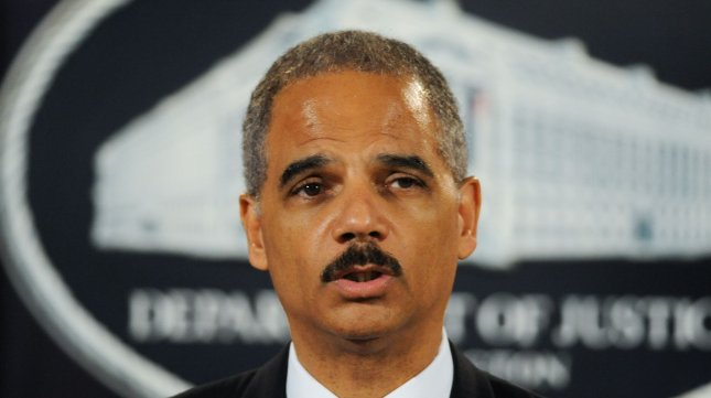 U.S. Attorney General Eric Holder told the National Council of La Raza that the government will make sure Arizona's new immigration law does not lead to racial profiling. UPI/Alexis C. Glenn