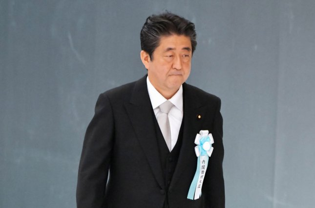Japan's Prime Minister Shinzo Abe has said he is willing to meet with Kim Jong Un, but the North Korean leader has not offered any remarks on the issue of abducted Japanese citizens. File Photo by Keizo Mori/UPI