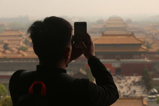 Tourists are gathering in large numbers across China following the relaxing of restrictions, according to multiple press reports. File Photo by Stephen Shaver/UPI