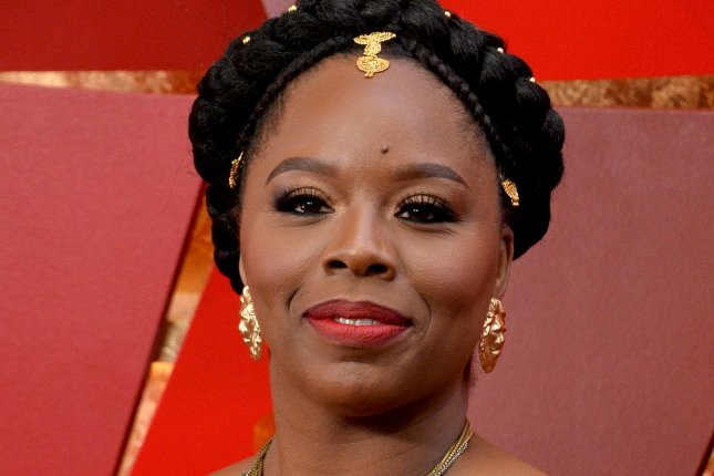 Patrisse Cullors of Black Lives Matter arrives at the Academy Awards at the Dolby Theatre in Los Angeles on March 4, 2018. Cullors said she is leaving the Black Lives Matter Global Network Foundation this week. Photo by Jim Ruymen/UPI