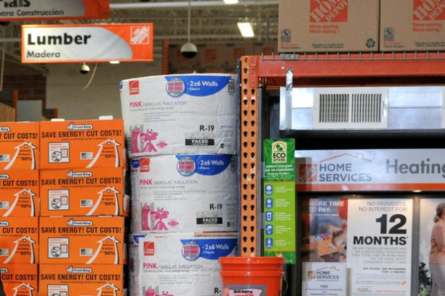 A Home Depot store in Alexandria, Virginia. (UPI/Ron Sachs/Pool)