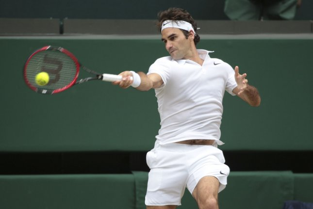 Roger Federer announced he will not play in the French Open to prepare for Wimbledon. File photo by Hugo Philpott/UPI