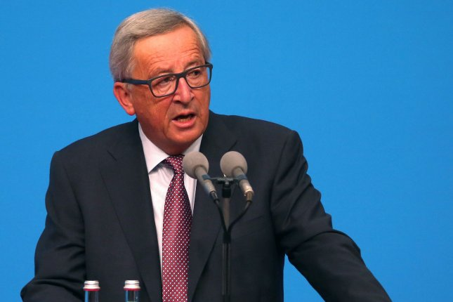 European Union President Jean-Claude Juncker says support for the Paris climate agreement is stronger in the wake of a U.S. federal move to step away. Photo by Stephen Shaver/UPI