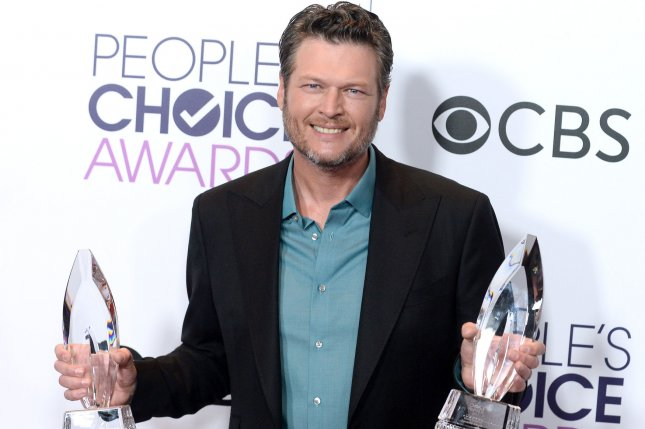 Blake Shelton is set to go on tour again starting in February. File Photo by Jim Ruymen/UPI