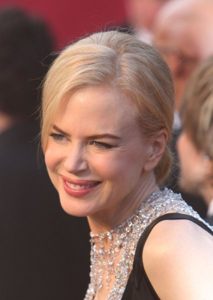 Nicole Kidman arrives at the 80th Academy Awards in Hollywood on February 24, 2008. (UPI Photo/Terry Schmitt)