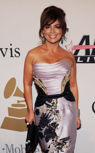 Paula Abdul arrives at the Clive Davis pre-Grammy party in Beverly Hills, California on February 7, 2009. (UPI Photo/Jim Ruymen)