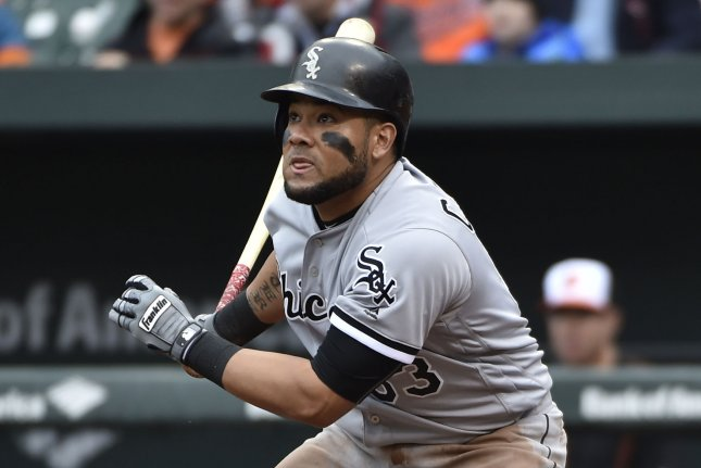 Chicago White Sox's Melky Cabrera (53). Photo by David Tulis/UPI