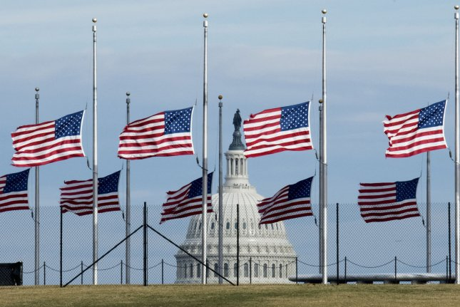 Congress returns to work Monday after a weeklong recess for both houses. Legislators will face the rising debate over gun violence in the United States and other significant issues this week. Photo by Pat Benic/UPI