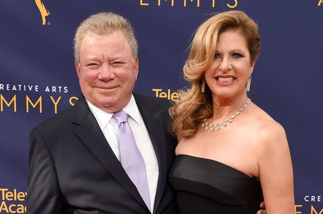 William Shatner (L) split from his wife, Elizabeth Shatner, ahead of their 19th wedding anniversary. File Photo by Gregg DeGuire/UPI