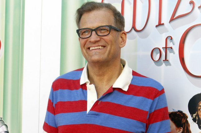 Actor Drew Carey will be a guest host on The Late Late Show this winter. He is pictured here in Los Angeles Sept. 15, 2013. UPI/Alex Gallardo