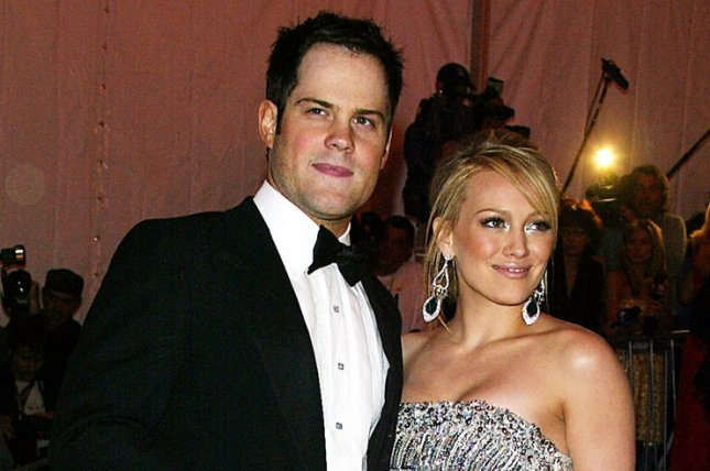 Hilary Duff (R) and Mike Comrie at the Costume Institute Benefit at the Metropolitan Museum of Art on May 5, 2008. The actress filed for divorce from Comrie in February. File Photo by Laura Cavanaugh/UPI