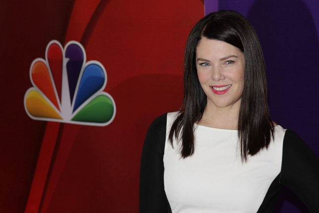 Lauren Graham arrives on the red carpet at the 2013 NBC Upfront Presentation in New York City on May 13, 2013. Photo by John Angelillo/UPI