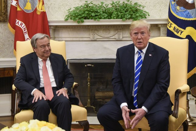 Donald Trump, Antonio Guterres optimistic about United Nations' potential - UPI.com