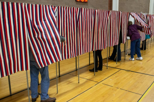 Naturalized U.S. citizens make up 10 percent of the eligible voting population, a Pew Research Center report revealed on Wednesday. Photo by Matthew Healey/UPI