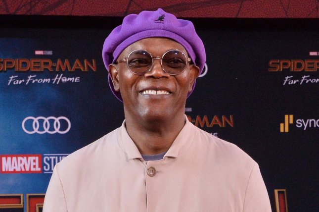 Samuel L. Jackson is set to star in new Apple limited series titled The Last Days of Ptolemy Grey. File Photo by Jim Ruymen/UPI