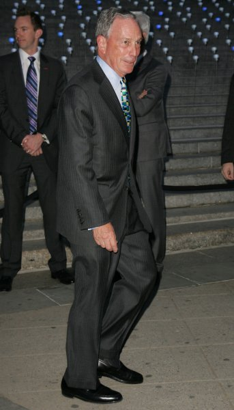 New York City Mayor Michael Bloomberg (April 17, 2012, file photo). UPI /Monika Graff.