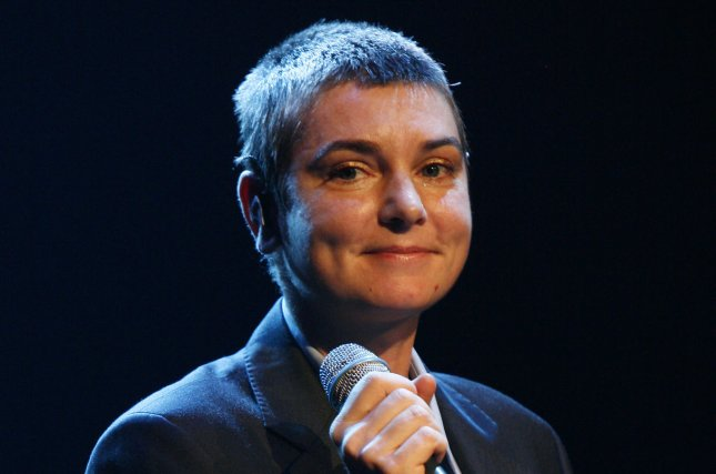 Sinead O'Connor performs in Paris on November 13, 2007. File Photo by David Silpa/UPI
