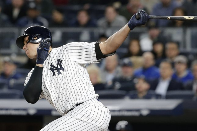 Judge hits two more to power Yankees past Orioles