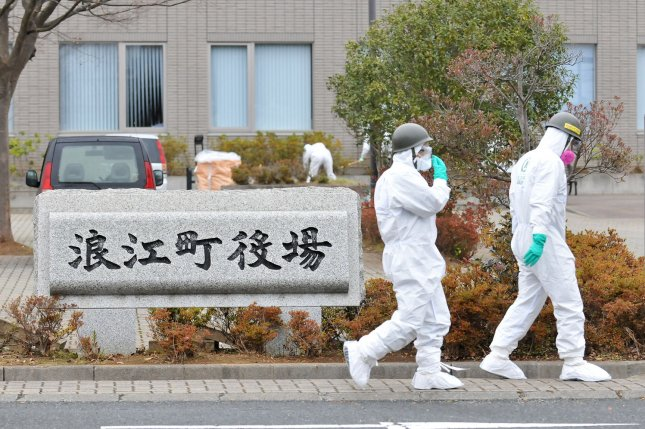 Japan's Fukushima Daiichi nuclear plant stores more than 1 million tons of contaminated water. File Photo by Keizo Mori/UPI