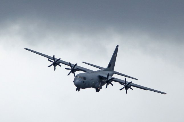 Lockheed Martin announced a $1.5 billion award Monday to build 21 of a planned 50 C-130J aircraft for the U.S. military. File Photo by David Silpa/UPI