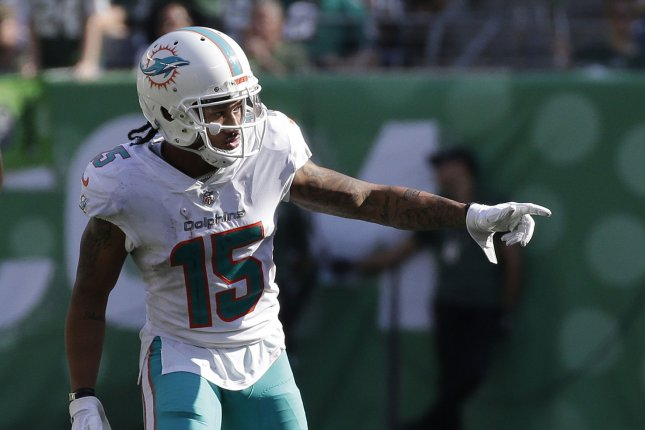 Miami Dolphins receiver Albert Wilson (pictured) becomes the second Dolphins player to opt out in as many days, joining fellow wideout Allen Hurns. File Photo by John Angelillo/UPI