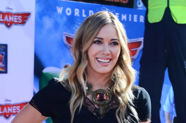 Hilary Duff has confirmed reports that she has a Tinder profile. File photo by Jim Ruymen/UPI