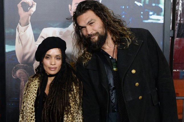 Actors Lisa Bonet and Jason Momoa attend the premiere of the motion picture crime drama Live By Night in Los Angeles on January 9. Momoa's Aquaman movie is now set for release on Dec. 21, 2018. File Photo by Jim Ruymen/UPI