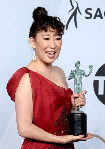 Actress Sandra Oh is lending her voice to a character in the animated series Invincible. Photo by Jim Ruymen/UPI.