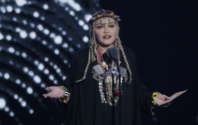 Singer Madonna is set to release her 14th studio album in June. File Photo by John Angelillo/UPI