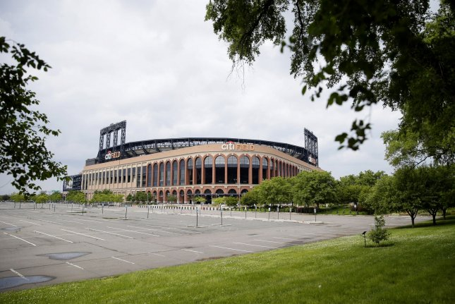Citi Field, home of the New York Mets, remains closed as does all MLB stadiums due to the coronavirus pandemic. The league and players are engaged in a labor dispute and have failed to reach an agreement to play. File Photo by John Angelillo/UPI