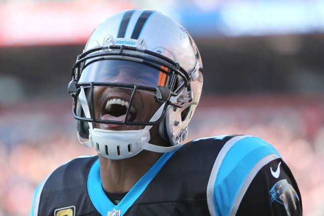 Cam Newton said he felt disrespected after teams didn't have interest in signing him this off-season, but he looks forward to games against those teams going forward. File Photo by Aaron Josefczyk/UPI
