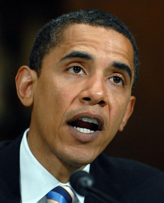 Sen. Barack Obama, D-Ill. (UPI Photo/Roger L. Wollenberg/FILE)
