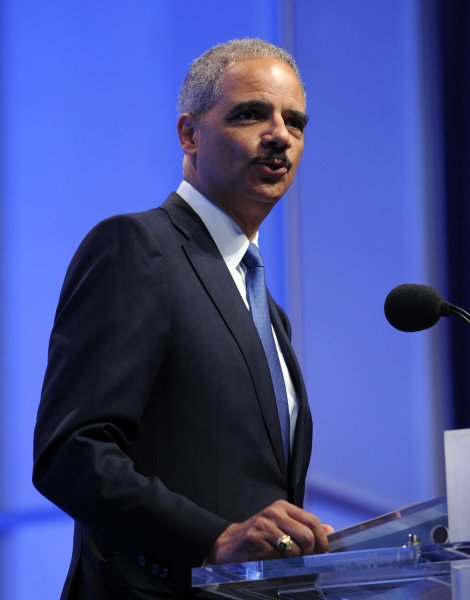 Attorney General Eric Holder, who called the arrests the largest takedown of Medicare fraud in U.S. history. UPI/Roger L. Wollenberg