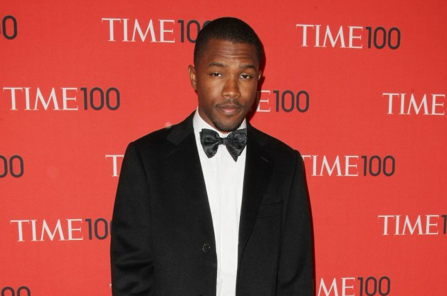 Frank Ocean arrives at the TIME 100 Gala at Jazz at Lincoln Center on April 23, 2013 in New York City. Ocean's second studio album Boys Don't Cry is set for release on Friday. File Photo by Monika Graff/UPI