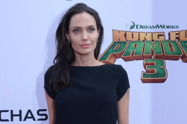 Angelina Jolie attends the premiere of Kung Fu Panda 3 on January 16, 2016. A trailer for Jolie's next directed film First They Killed My Father has been released. File Photo by Jim Ruymen/UPI