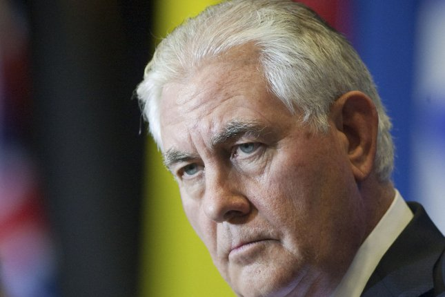 U.S. Secretary of State Rex Tillerson says energy companies in his country have the resources to ensure energy security for Poland. File photo by Heinz Ruckemann/UPI