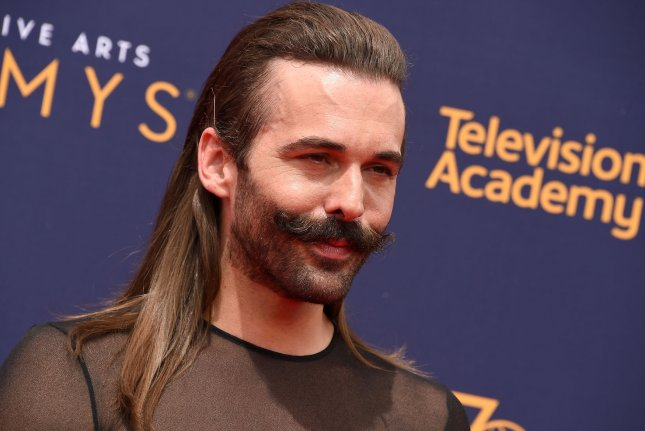 Jonathan Van Ness attends the Creative Arts Emmy Awards at the Microsoft Theater in Los Angeles on September 9, 2018. File Photo by Gregg DeGuire/UPI