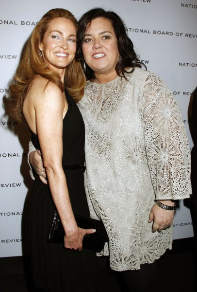 Rosie O'Donnell arrives for the National Board of Review Awards Gala at Cipriani in New York on January 10, 2012. UPI /Laura Cavanaugh