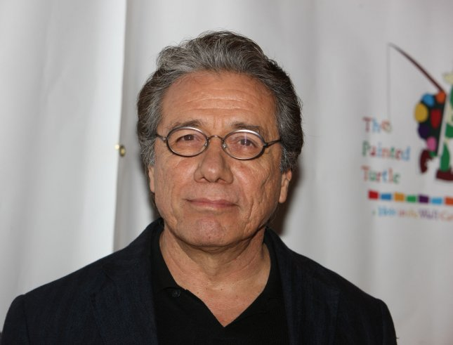 Edward James Olmos, who played Escalante in the celebrated movie, confirmed the teacher's death at his son's home in Roseville, Calif., to the Los Angeles Times. (UPI Photo/Terry Schmitt)