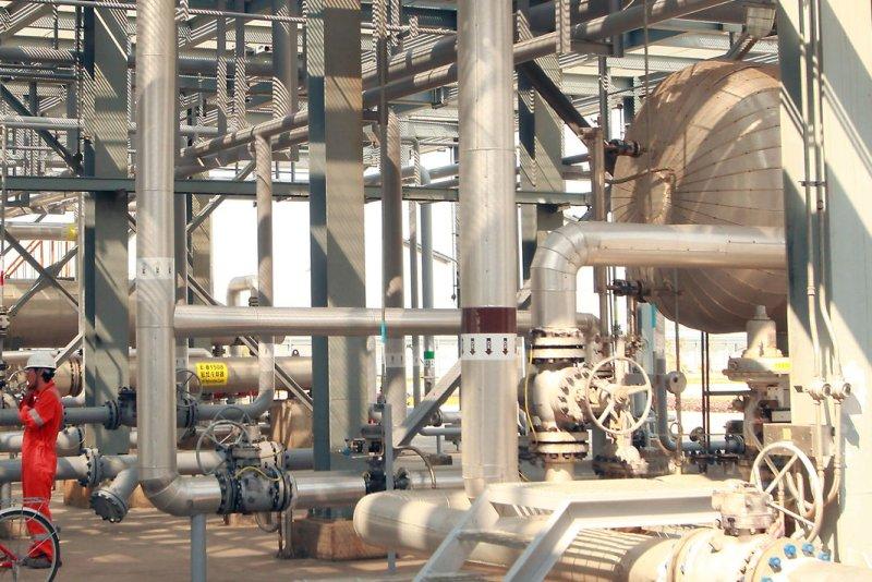 Libyan oil company lifts force majeure at Zueitina oil terminal. UPI/Stephen Shaver