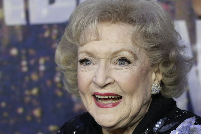 Betty White arrives on the red carpet at the SNL 40th Anniversary Special at 30 Rockefeller Plaza in New York City on Feb. 15, 2015. Photo by John Angelillo/UPI