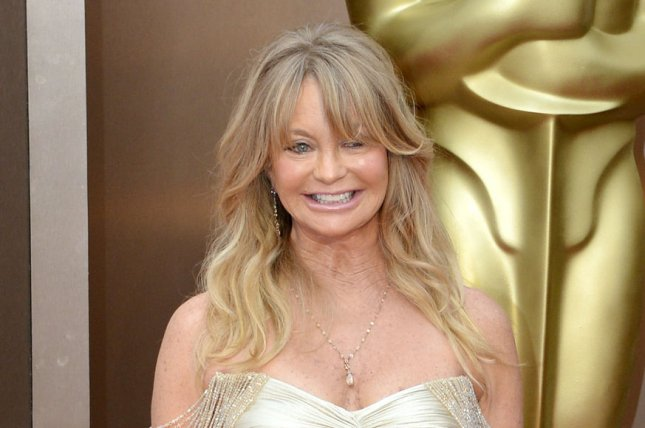 Goldie Hawn at the Academy Awards on March 2, 2014. File photo by Kevin Dietsch/UPI