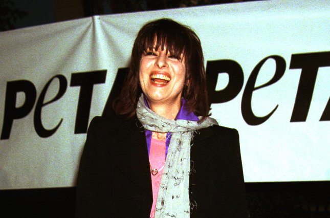Chrissie Hynde, lead singer of the Pretenders arrives Sept. 18, 1999 to PETA's (People for the Ethical Treatment of Animals) Party of the Century and Humanitarian Awards at Paramount Studios. File Photo by /Jim Ruymen/UPI