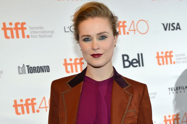 Evan Rachel Wood arrives at the Toronto International Film Festival premiere of Into The Forest at the Winter Garden Theatre in Toronto, Canada, on September 12, 2015. Wood is seen questioning her creator Anthony Hopkins in the latest trailer for HBO's Westworld. File Photo by Christine Chew/UPI