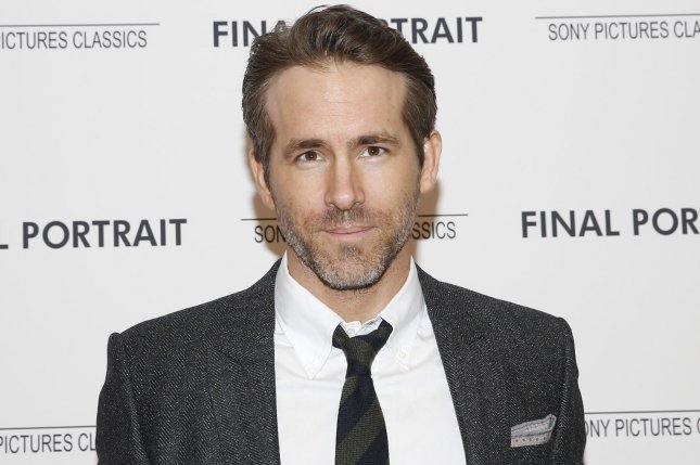Ryan Reynolds is developing a new comedy titled Stoned Alone, a film similar to Home Alone. File Photo by John Angelillo/UPI