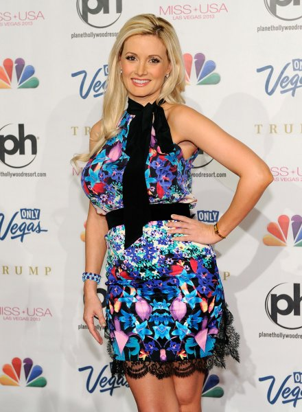 Model and television personality Holly Madison arrives at the 2013 Miss USA competition at the Planet Hollywood Resort and Casino in Las Vegas, Nevada on June 16, 2013. UPI/David Becker